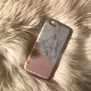 Pink & Marble IPhone 6/6s Case